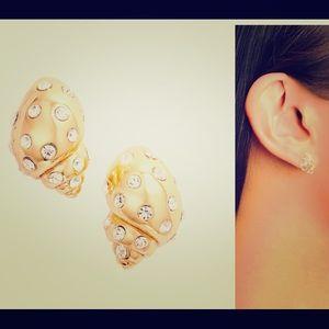 New Kate Spade under the sea  shell stud earrings